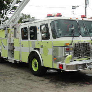 1998 Pierce Ledder Fire Truck
