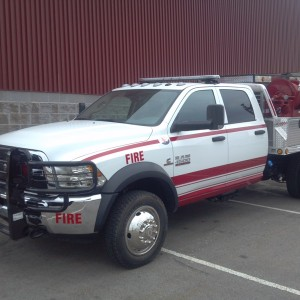 2014  Dodge 4500 4×4 Fire Truck 400 Gls