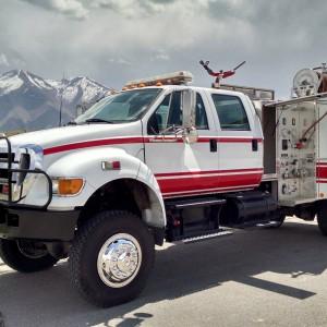 2005 Ford F- 750 Fire truck 4×4