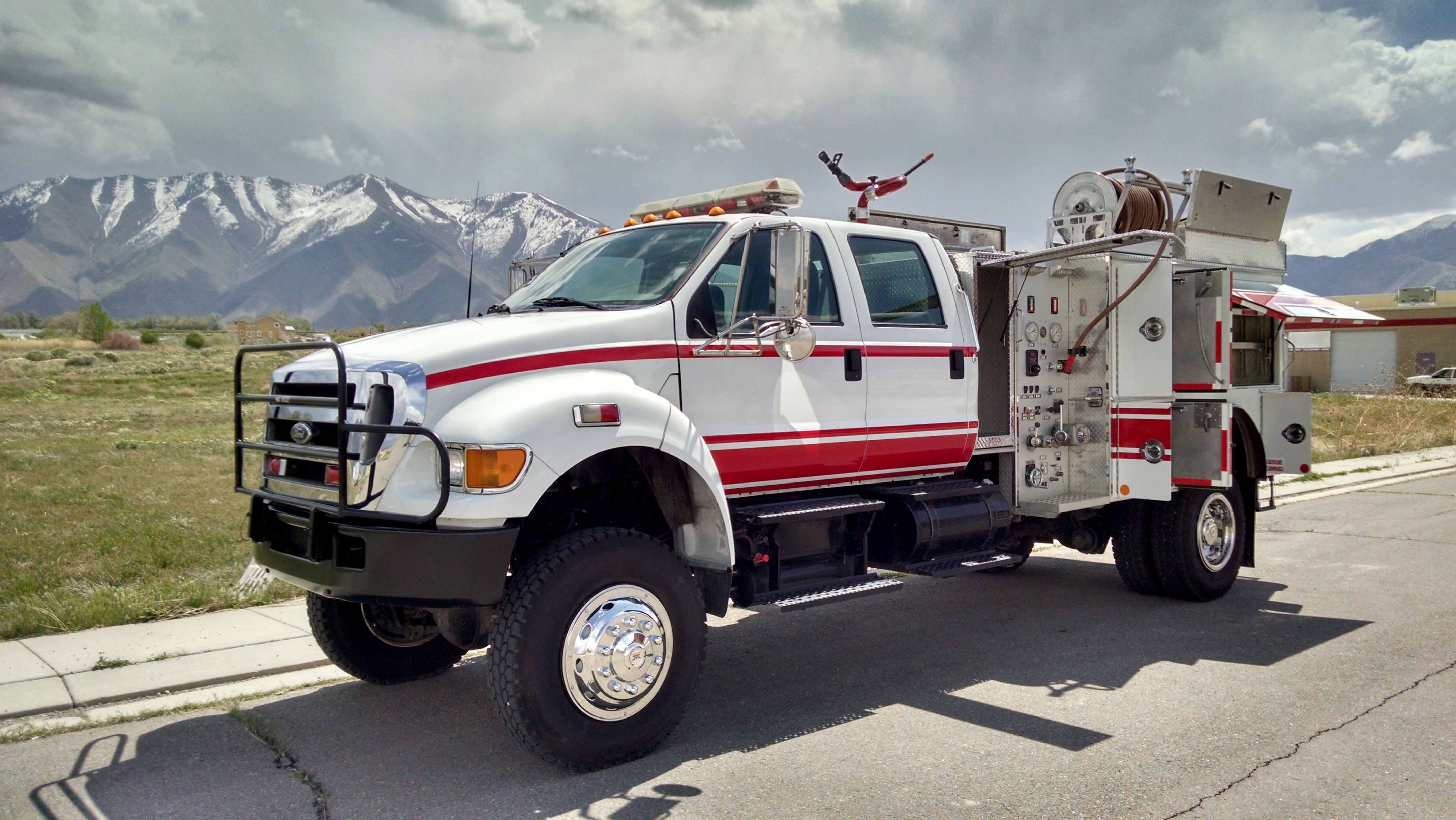 2005 ford f 750 fire truck 4 4 rtrucks. Black Bedroom Furniture Sets. Home Design Ideas