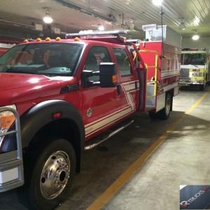 2011 Ford F-550 Fire Truck