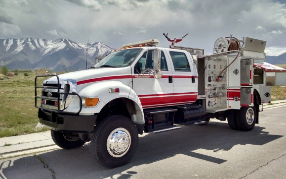 2005 Ford F- 750 Fire truck 4×4