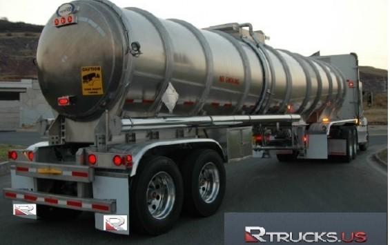 2014 Fuel Trailer 9000 Gls 1 Compartments