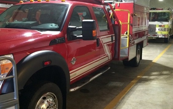 2011 Ford F-550 Fire Truck