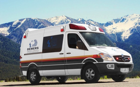 2012 AMBULANCIA TIPO II MERCEDEZ